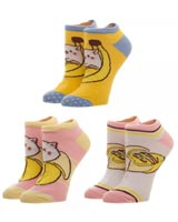 Bananya Ankle Socks 3 Pack