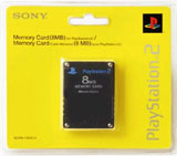PS2 Memory Card Black by Sony