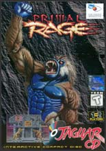 Primal Rage Jaguar CD