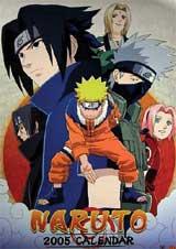 Naruto 2005 Calendar (CL-185)