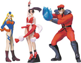 Capcom vs. SNK Mini Figures Series 1 (Set of 3)