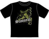 Rurouni Kenshin Tonal Samurai T-Shirt LG