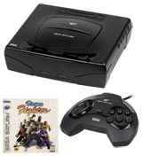 Sega Saturn System with Virtua Fighter
