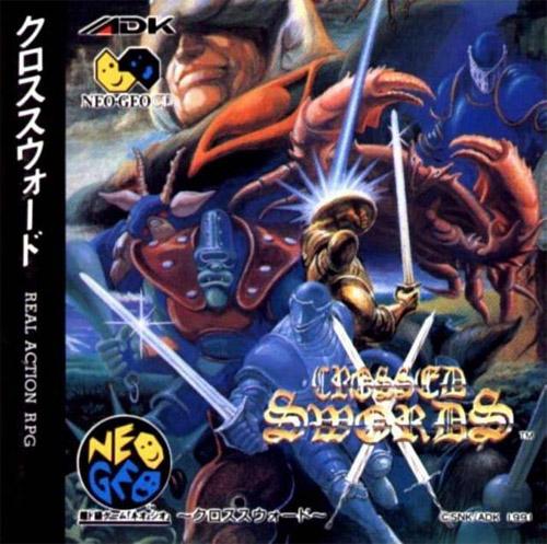 Crossed Swords Neo Geo CD
