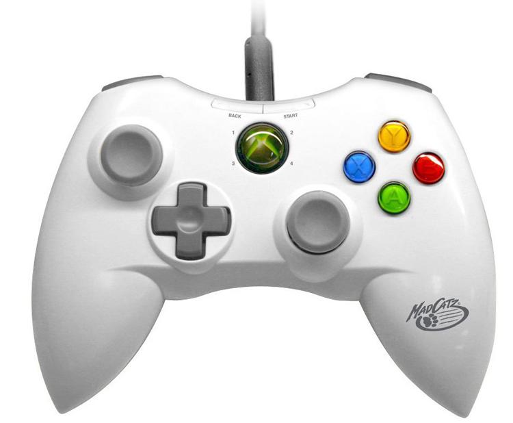 Xbox 360 MadCatz 200 Series Control Pad