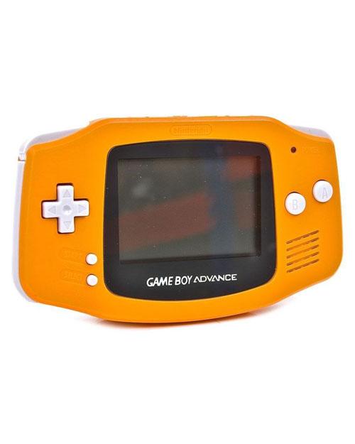 Nintendo Game Boy Advance Spice Orange