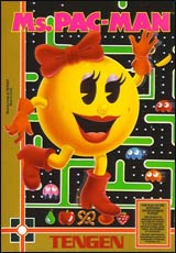 Ms. Pac-Man by Tengen