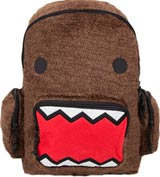 Domo Fur Front Canvas Backpack