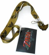 Legend Of Zelda Twilight Princess Gold Lanyard