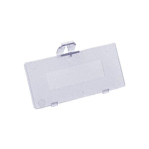 Game Boy Pocket Battery Cover Clear Purple