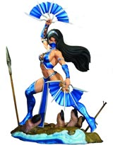 Mortal Kombat: Kitana 1/4-Scale Statue