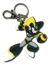 Mega Man 10 Bass Running Right Keychain