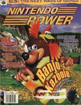 Nintendo Power Volume 109 Banjo Kazooie