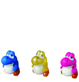 New Super Mario Bros Baby Yoshi 3 Pack Series 2 Figures
