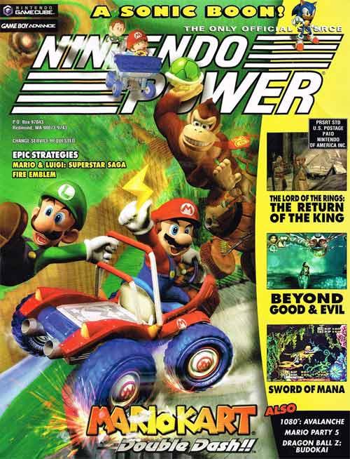 Nintendo Power Volume 175 Mario Kart Double Dash