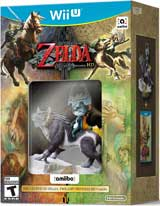 Legend of Zelda: Twilight Princess HD with amiibo Wolf Link