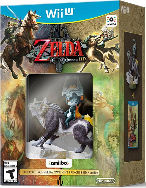 Legend of Zelda: Twilight Princess HD with amiibo Wolf Link