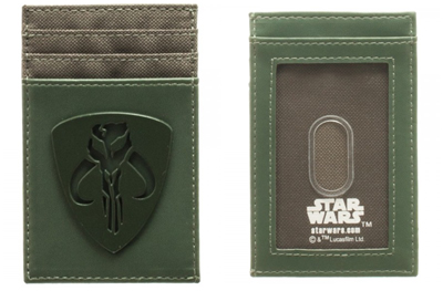 Star Wars Mandalorian Tonal Badge Frontpocket Wallet