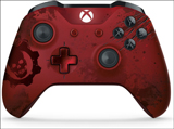 Xbox One S Wireless Gears of War 4 Crimson Omen Limited Edition Controller Microsoft
