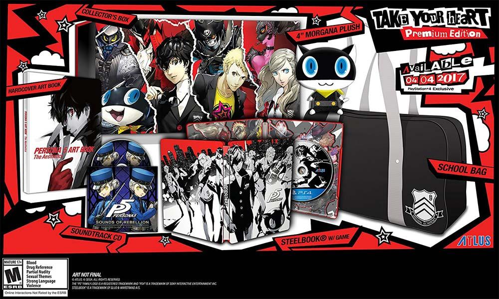 Persona 5 Take Your Heart Premium Edition