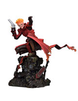 Trigun Badlands Rumble Vash Attack Version 1/6 Polystone Figure