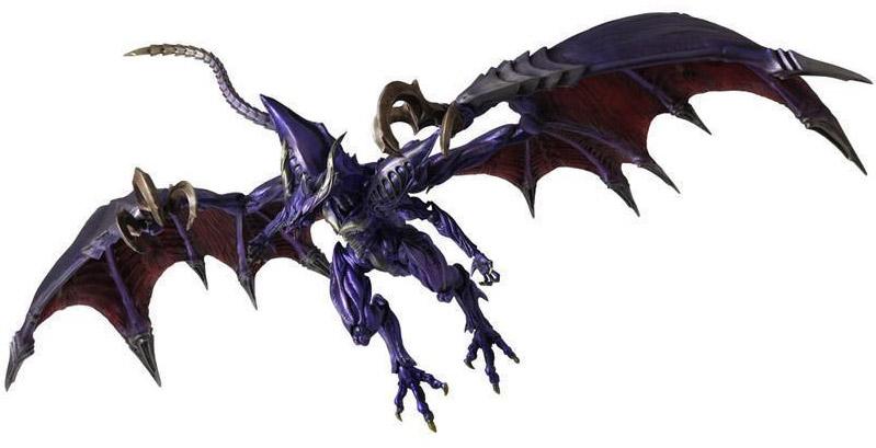 Final Fantasy: Bahamut Creatures Bring Arts Action Figure
