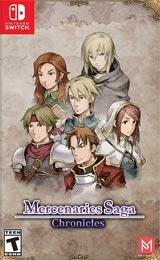 Mercenaries Saga Chronicles (Nintendo Switch) boxart