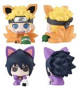 Naruto: Petit Chara Manekineko Manekikyubi 2 Piece Mini Figure Set