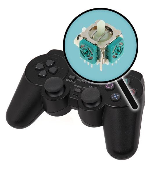 PlayStation 2 Repairs: Controller Single Analog Joystick Replacement Service