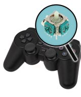 PlayStation 2 Repairs: Controller Single Analog Joystick Replacement Service