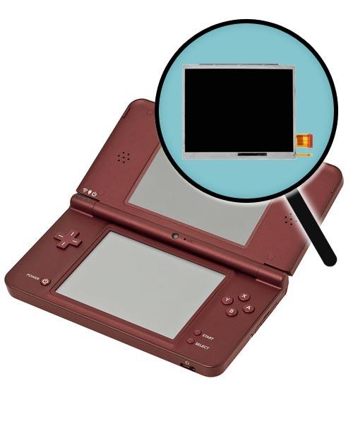 Nintendo DSi XL Repairs: Bottom LCD Screen Replacement Service