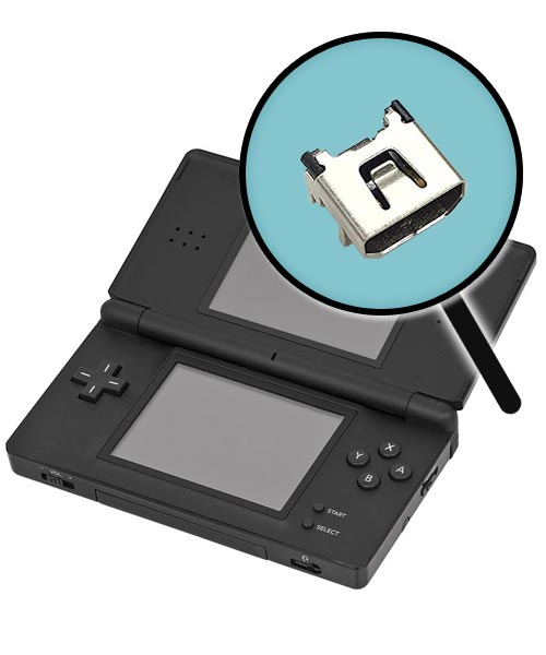 Nintendo DS Lite Repairs: Charging Port Replacement Service
