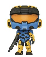 Pop Games Halo Infinite Mark VII Blue-Yellow Camo Vinyl Figure