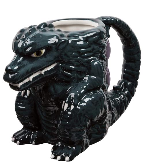 Godzilla 15 oz Sculpted Ceramic Mug