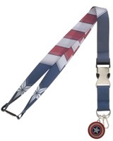 Captain America Suit-Up Lanyard