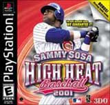 High Heat Baseball 2001 Sammy Sosa