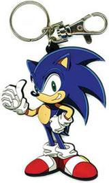 Sonic X Sonic Die Cut Keychain