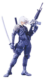 Metal Gear Solid 2 Series 1 Raiden Mini Figure