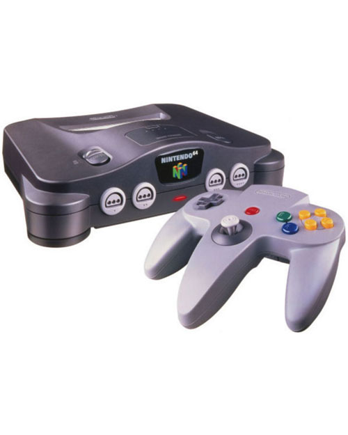 Nintendo 64 System with 4MB Expansion Pack