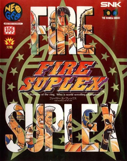 Fire Suplex Neo Geo AES