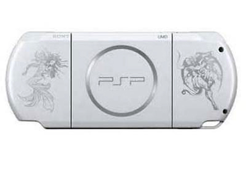 Sony PSP 3000 - White Final Fantasy: Dissidia Version