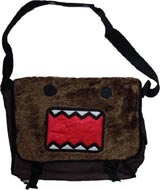 Domo Fur Front Canvas Messenger Bag