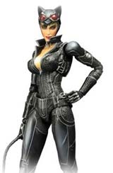 Batman: Arkham City Play Arts Kai Catwoman Action Figure