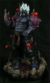 Street Fighter IV: Oni Resin Statue