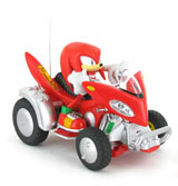Sonic & Sega All-Stars Racing Battery-Operated Car Knuckles