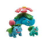 Pokemon Evolution Bulbasaur PVC Figures 3 Pack