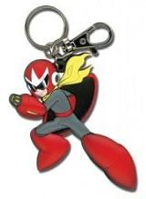 Mega Man 10 Protoman Pose Keychain