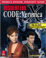 Resident Evil Code: Veronica X Official Strategy Guide