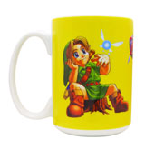 Legend Of Zelda: Ocarina Of Time Lil Link Mug