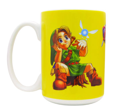 Ocarina of Time Lil Link Mug